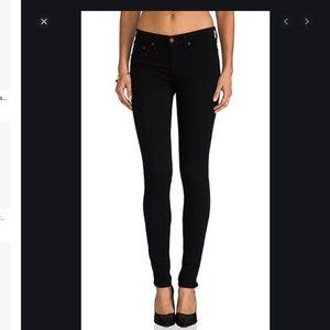 Rag & bone black jean leggings 27